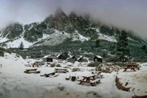 Мальовица снежен пейзаж 2